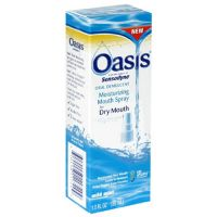 Oasis Mouth Moisturizing Spray, Mild Mint, 1 Fl Oz (30 Ml) (Pack Of 3)