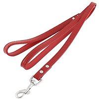 Uxcell Alligator Pattern Pet Dog Swivel Hook Walk Lead Leash Rope, 126cm, Red