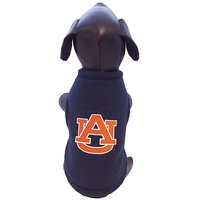 NCAA Auburn Tigers Polar Fleece Dog Sweatshirt, XX-Small