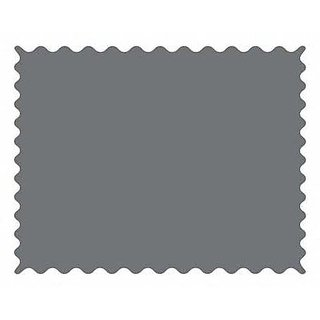 SheetWorld Dark Grey Woven Fabric - By The Yard