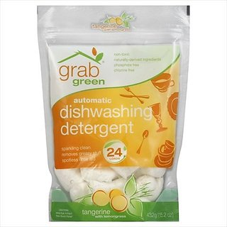 Automatic Dishwashing Detergent - Tangerine With Lemongrass Pouch -Pack of 6