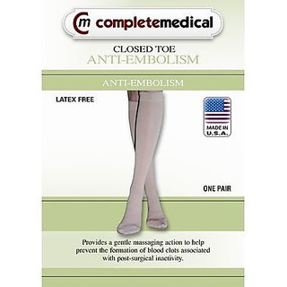 Anti-Embolism Below the Knee Stockings Size: Large