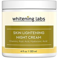 Whitening Cream Natural Skin Lightening Moisturizing And Anti Aging Benefits. Contains Vitamin C Hyaluronic Acid Green T