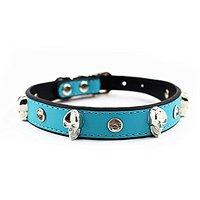 Nugoo 084 Cute Pet Dog Cat Kitty Puppy Wear Adjustable Cozy Bow Tie Collar (Blue)
