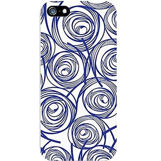 OTM Essentials Cell Phone Case for Samsung Galaxy S5 - New Age Swirls of Sapphire