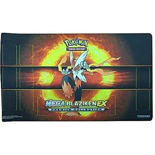 Pokemon Trading Card Game Playmat - Mega Blaziken EX (Official, 2015)