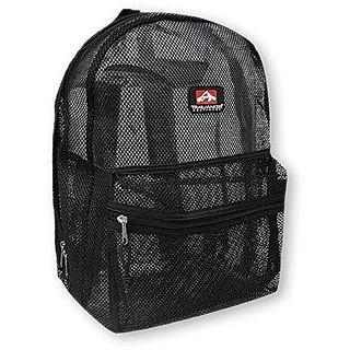 Trailmaker Mesh Backpack (Black)