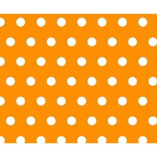 SheetWorld Extra Deep Fitted Portable / Mini Crib Sheet - Polka Dots Gold - Made In USA