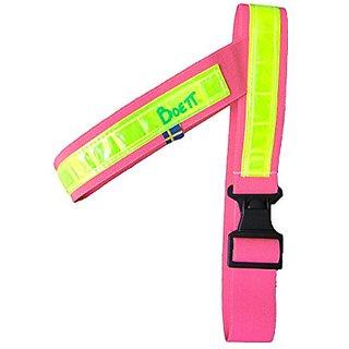 Boett Reflective Elastic Harness, Size 1, Pink