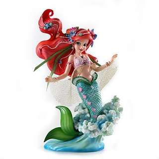 Enesco Disney Showcase Ariel Figurine, 8.375-Inch
