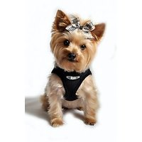 ULTRA CHOKE FREE DOG STEP IN HARNESS - MADE IN USA - BLACK - ALL SIZES (XS)