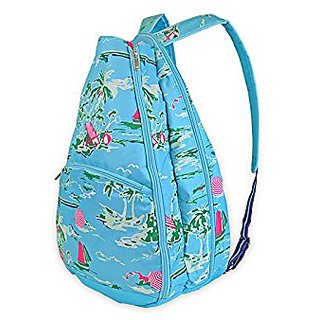 All For Color Tennis Backpack (Island Time)