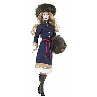 Barbie Dolls of The World Russia Barbie Doll