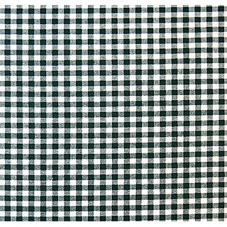 SheetWorld Fitted Square Playard Sheet 37.5 x 37.5 (Fits Joovy) - Hunter Green Gingham Check - Made In USA
