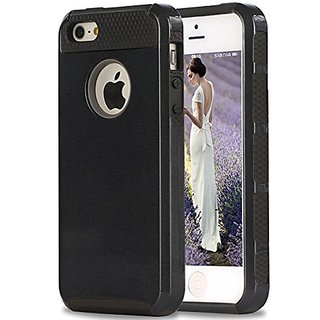 iPhone 5s Case,iPhone SE Case,iPhone 5 Case,by Ailun,Soft TPU Bumper&Hard Shell Solid PC Back,Shock-Absorption&Anti-Scra