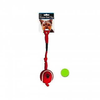 Kole KI-DI264 Rope Ball Dog Toy, One Size