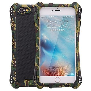iPhone 6 case ,bpowe sturdy case Waterproof Shockproof Dirt Proof Carbon Fiber Aluminum Metal Gorilla Glass Heavy Duty A