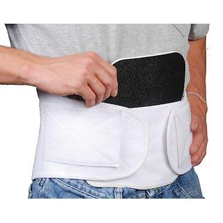 Bilt-Rite Mastex Health Lumbo Protech Back Support, White, Medium