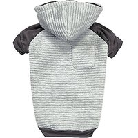 Zack & Zoey Elements Textured Stretch Hoodie For Dogs, Small