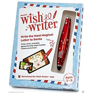 Macys Christmas Kids Wishwriter Stylus Write the Most Magical Letter to Santa