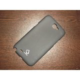 Samsung GALAXY NOTE II N7100 Hard Back Shell Cover Case Pouch - Black