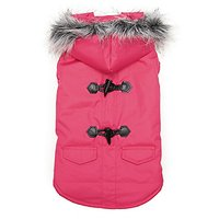 Zack & Zoey Elements Toggle Coat (Pack Of 6), X-Small Through Large, Pink
