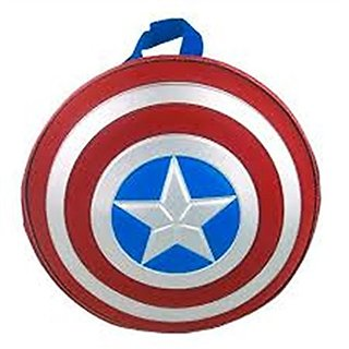 Marvel Captain America Boys Star Backpack - Red