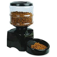 Automatic Pet Feeder Programmable Timer Food Station Dispenser Container For Dog Cat Animal With Electronic Large Small