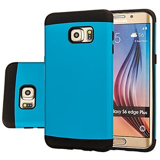 Galaxy S6 edge Plus case, Samsung Galaxy S6 edge Plus Armor case AnoKe Armor dual layer bumper case TPU PC hybrid protec