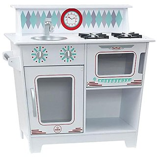 KidKraft Classic Kitchenette - White Playset