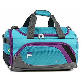 Fila Advantage Small Travel Gym Sport Duffel Bag, Teal