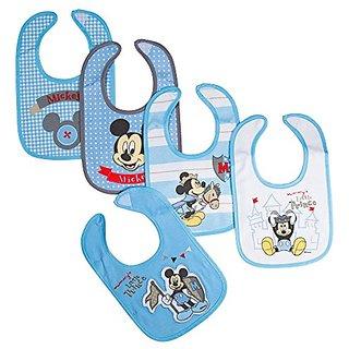Disney Mickey Newborn Bibs Little Prince, Blue