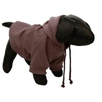 Pet Life Fashion Ultra-Soft Cotton Pet Dog Hooded Sweater, Medium, Cocoa Brown