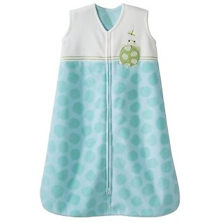 Halo SleepSack Micro Fleece Wearable Blanket, Green, Large
