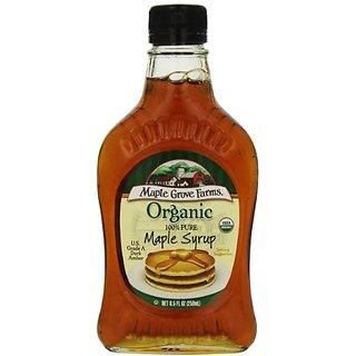 Maple Grove Maple Syrup, Og, Gr A, Glass, 8.50 Ounce (Pack of 12)