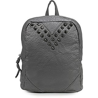 Scarleton Fashion V Studded Backpack H177603 - Grey