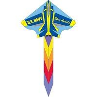 HQ 48-Inch Simple Flyer Kite (Blue Angel)