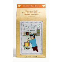 Hollys Au Natural Oatmeal, Wickedly Plain, 16-Ounce Boxes (Pack Of 6)