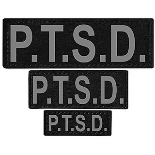 Dogline P.T.S.D. Removable Velcro Patches, X-Small