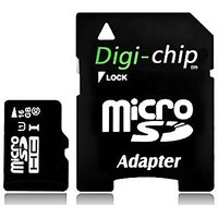 Digi-Chip HIGH SPEED 16GB UHS-1 CLASS 10 Micro-SD Memory Card For HTC Desire 526 And Desire 626s Cell Phones