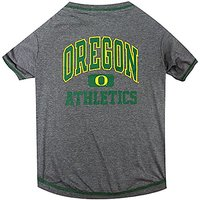 Pets First Collegiate Oregon Ducks Dog Tee Shirt, Small