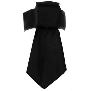 Platinum Pets Formal Dog Necktie and Collar , 10-11-Inch, Black
