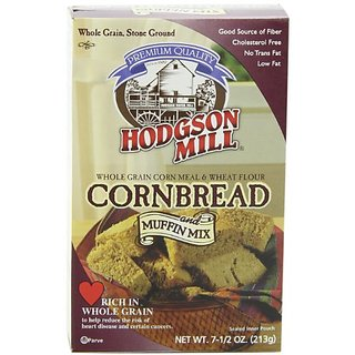 Hodgson Mill Cornbread & Muffin Mix, 7.5-Ounce (Pack of 8)