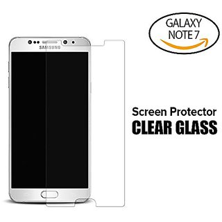 Galaxy Note7 Antimicrobial Tempered Glass Screen Protector, i-croo Antibacterial HD Clear Anti-shock Anti-scratch premiu