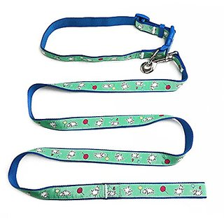 Pet Cuisine Dog Lead Leash With Adjustable Neck Collar , Walking Training Lead, for Medium/Large Dogs Multi-colored