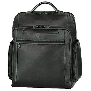 Mancini Colombian Leather Backpack for 15.6