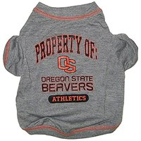 Pets First Collegiate Oregon State Beavers Dog Tee Shirt, Small