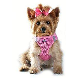 American River Choke Free Dog Harness - Size-Medium - Candy Pink