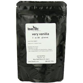 Teas Etc Very Vanilla Loose Leaf Rooibos 3 oz.