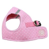 BINGPET BB5004 Polka Dot Soft Vest Dog Puppy Pet Harness Adjustable - Pink
